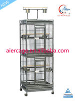 double stack bird cages for parrots