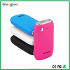 Guoguo fast charge 4400mAh portable ABS Leather power bank battery case for iphone 6