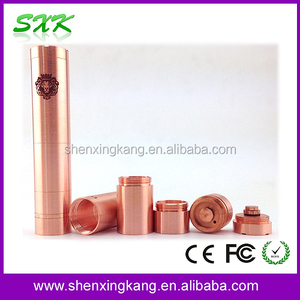 SXK Mechanical Mod King V2 Copper King Mod New Arrival Product In Stock