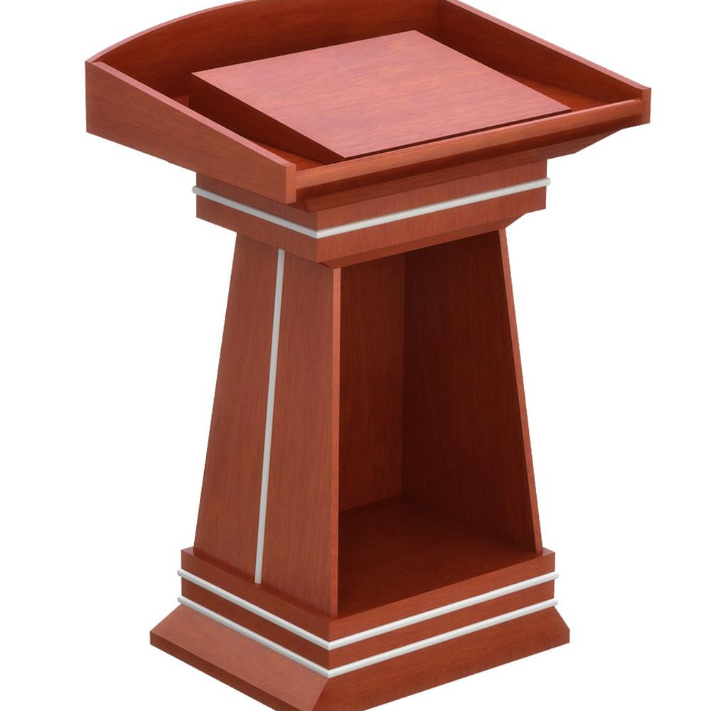 Wood Church Master Sch Table Stand