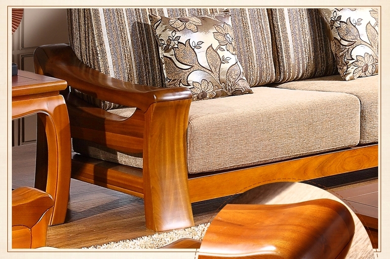 Teak Wood Sofa Set Design For Living Room/living Room Furniture Design