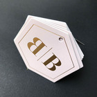 One-Stop Service Display Card Wholesale Custom Gold Foil Jewelry Cards With Logo