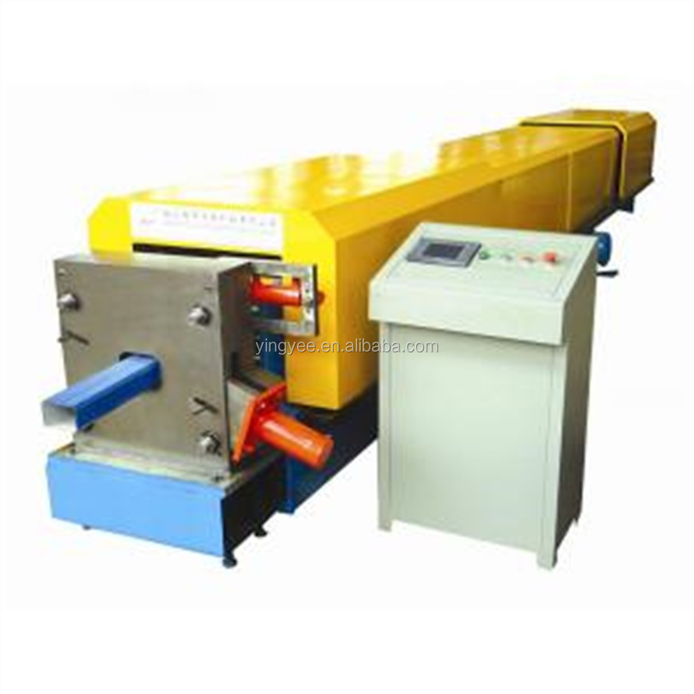 Downpipe Machine Drawing metal pipe sheets cold roll forming machine