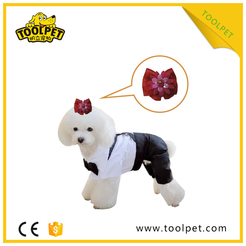 Fashion pet supply bow tie dog grooming products