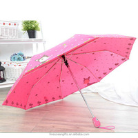 Sell lady auto compact pocket sun rays protection anti uv umbrella