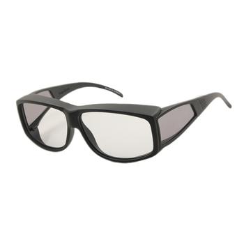 0e644652c9 Matte Black Side Shield Square Lite Fits Over Sunglasses For Driving Or  Fishing