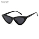 Fashion Custom Ladies Sunglasses Cat Eye 3 Uv400 Sunglasses Women