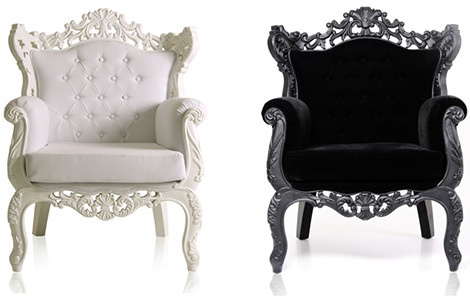 two different styles baroque sofa ZJZ4TBTO