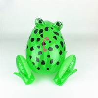 inflatable luminous frog animal toys for gift