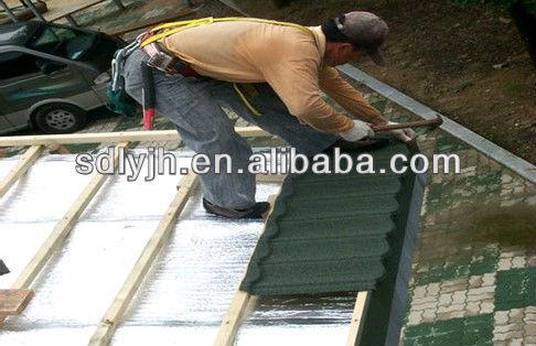 méthodes d'installation de toiture en métal
