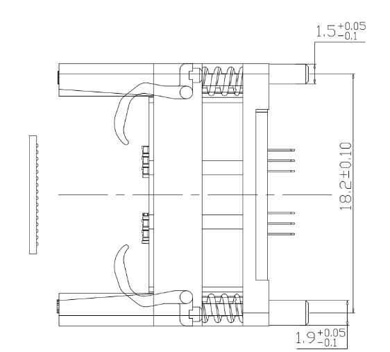DDR2 ddr3 ddr4 78ball socket