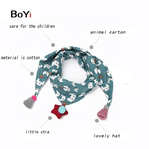 Wholesale High Quality Custom Winter Winter Kids Scarf