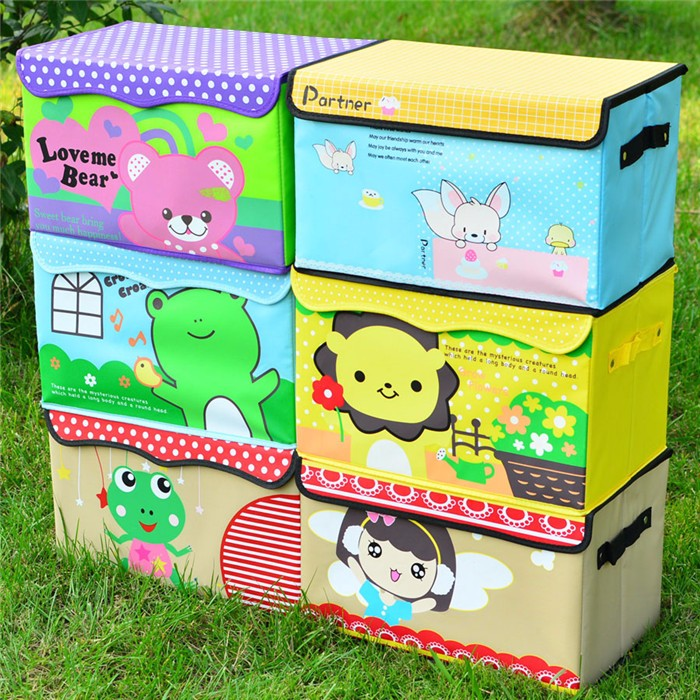 Promotional customizable eco-friendly decorative cardboard storage boxes