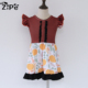 sweet honey dress cheap children's clothing from Yiwu factory Halloween girls clothes baby party dress