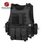 Xinxing black tactical vest with plate carrier bag ang bulletproof core bag for tactical and ballistic usage for police TV03