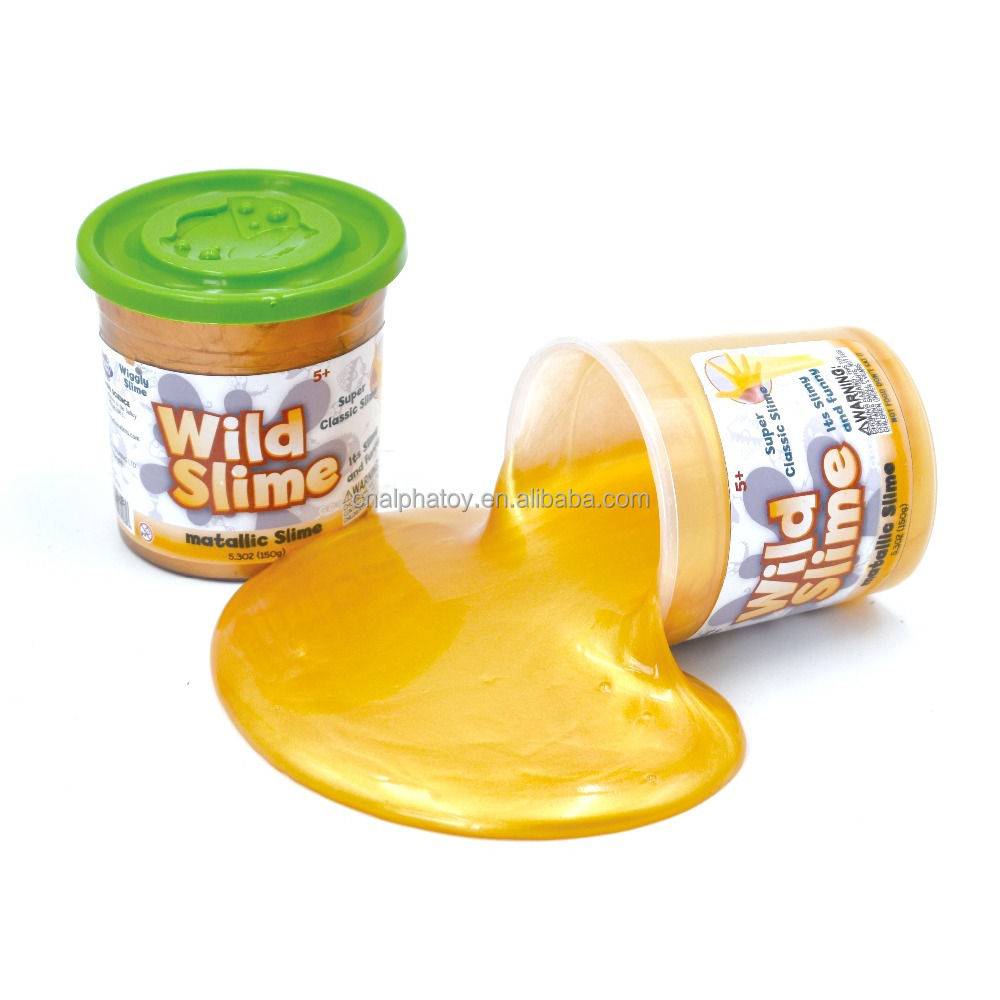 Metallic Science Slime toys educational science kit for kids