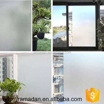 Frosted doors windows film sticker glass window paper cover privacy glass film tint 45x100cm