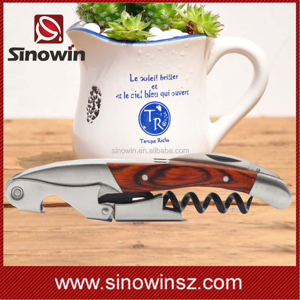 Hot sale wine corkscrew rosewood welcome ship to amazon