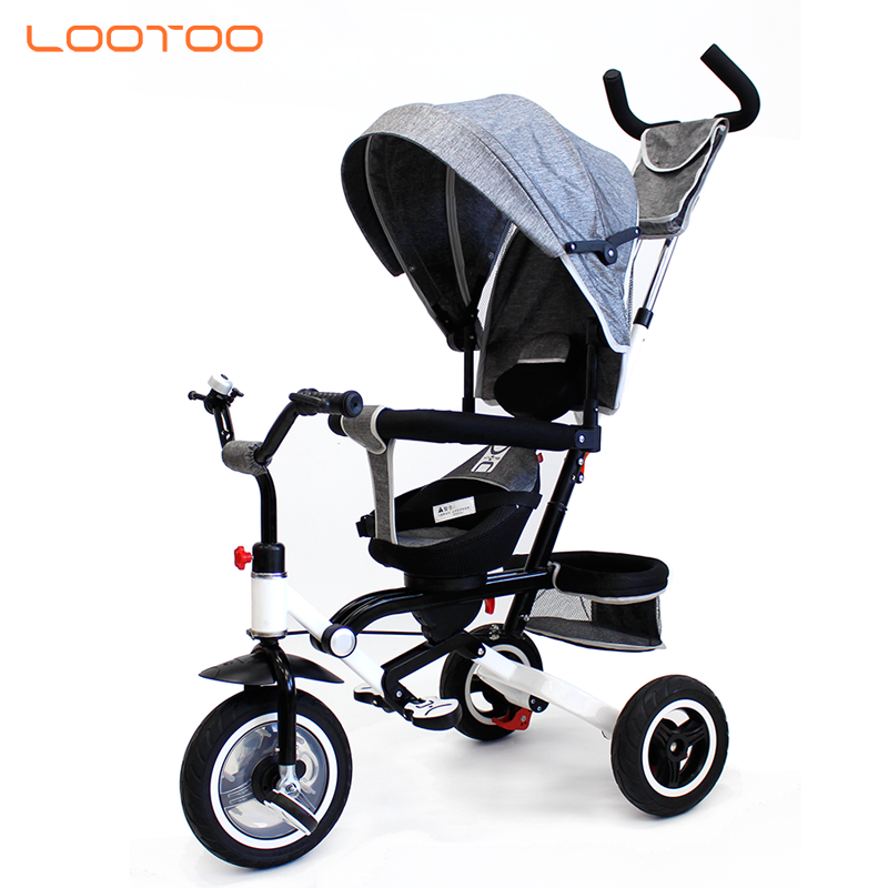 2019 convertible handle stroller kids bike 3 wheel bicycle lootoo baby tricycle for 1 2 3 to 5 year old sri lanka