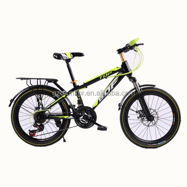 20 inch 21 speed kids mountain bike with MTB saddle/steel frame/fender/double disk brake for kids