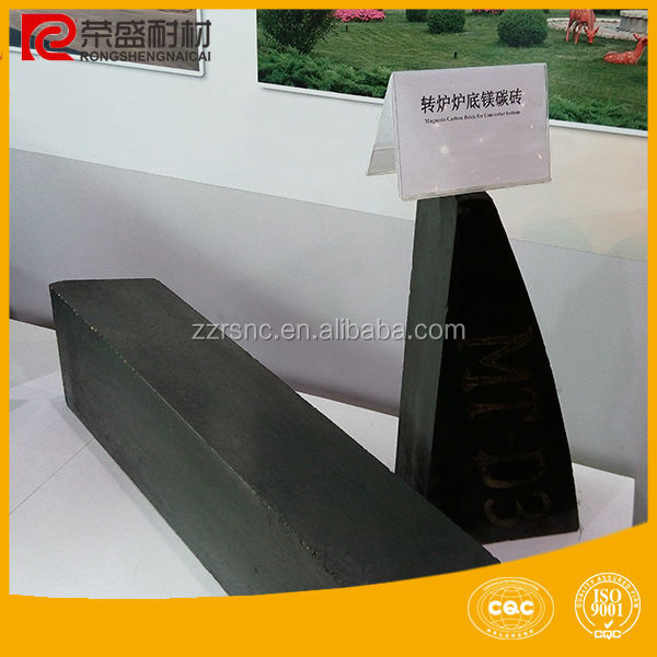Refractory brick/magnesia carbon brick for EAF