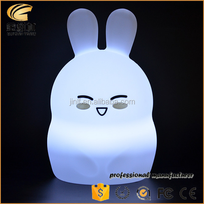 Rabbit Shaped Night Lights For Kids