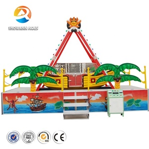 Showann brand adults them park / amusement park / carnival games trailer mounted pirate ship ride for sales promotion