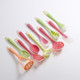 10pcs silicone kitchen utensils set for cooking tools