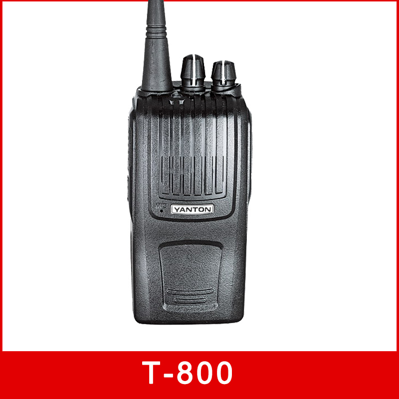 CE approval 8w professional transceivers vhf uhf(YANTON T-800)