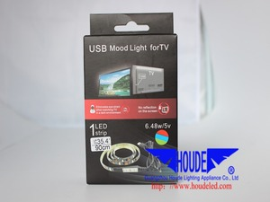 houde lighting!Home Theatre Ideal Mood rgb USB LED Strips TV Plasma LCD Back Lighting Ambient