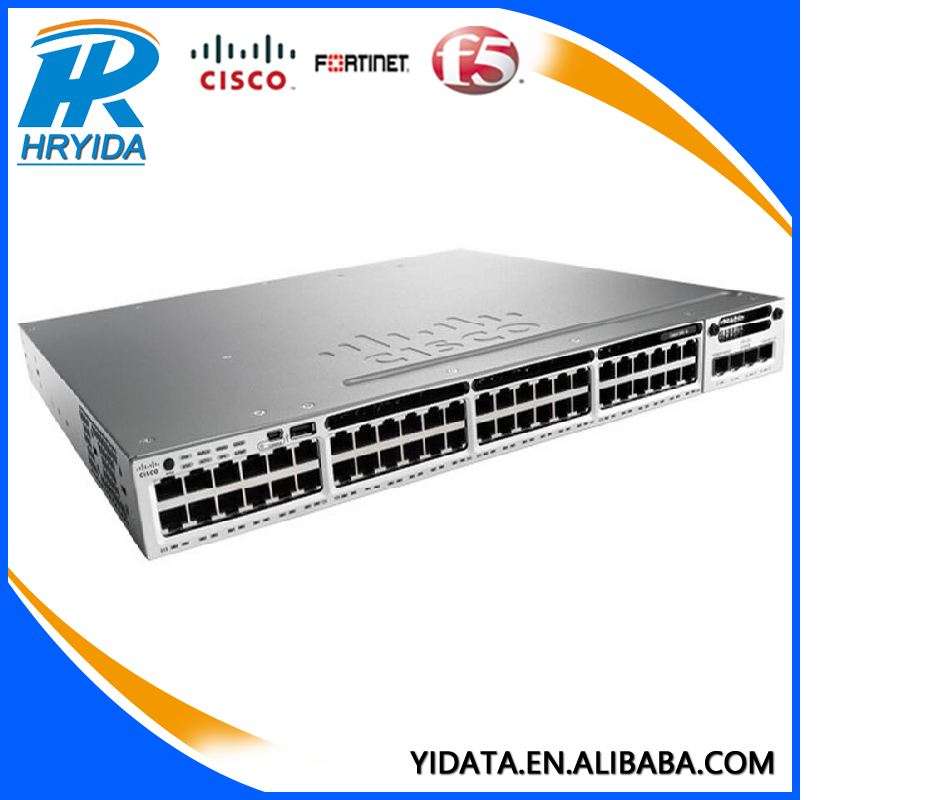 Name Brand Cisco Electrical Switches Ws-c3850-48t-l 48port ...