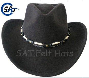 Black Stetson Western Looking Cowboy Hat 240c6d11e31