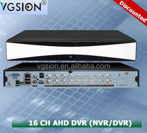 16 channel 720p AHD <strong>DVR</strong> /NVR/<strong>DVR</strong>