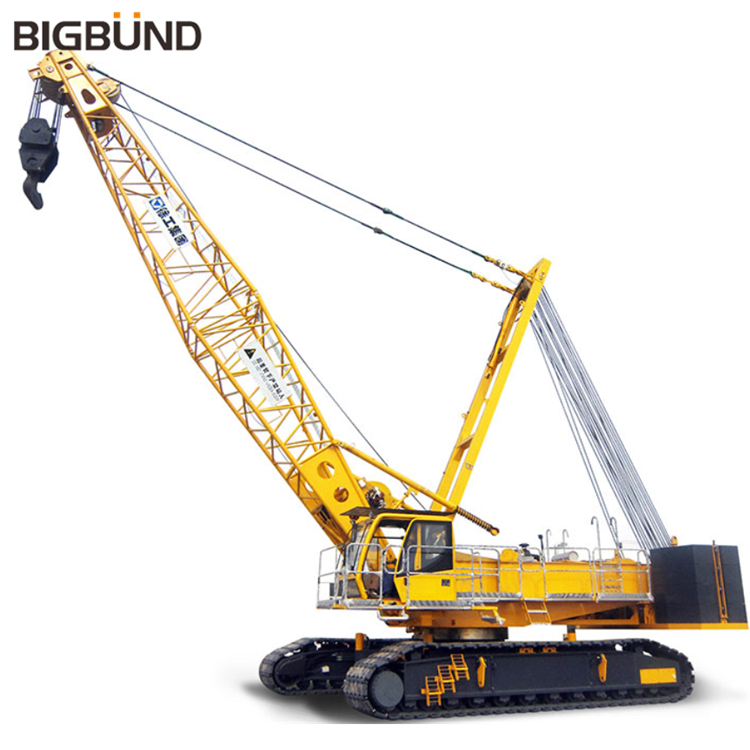 XGC150 Bigbund factory price official 150 ton mobile crawler crane for sale
