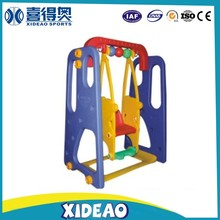 children toys kids indoor slide and swing sets with basketball ring XA-T0802