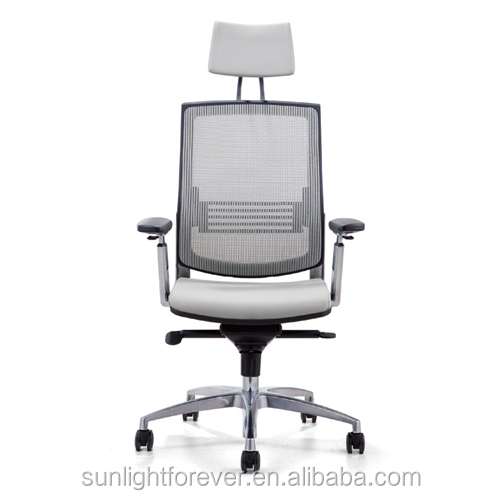 Custom Colorful Moving Mesh Leather Computer Office Chair, chair office