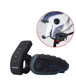 High performance waterproof ski/motorcycle helmet bluetooth intercom