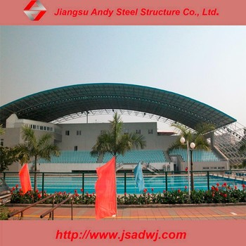 Fast And Easy Installation Outdoof Metal Roof Structure