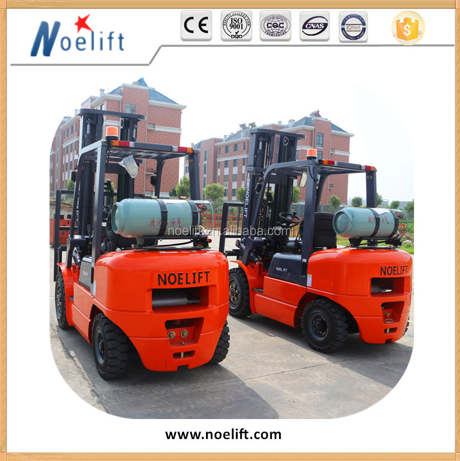 3 Ton Forklift Price for Japanese Engine (gas or LPG) 3 stage 4.5m height mast