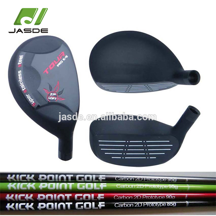 Custom innovative cost effective professional accept head only forged golf hybrid wood