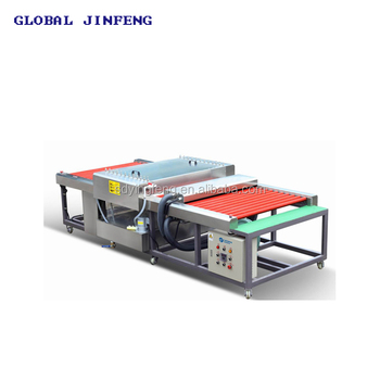 JFW-1200 Small size Width Float Horizontal Glass clean machine factory