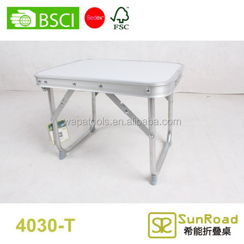 1 Section 40cm White Camping Folding Table Portable Small Table Buy White Camping Folding Table Folding Mini Table Camping Aluminum Folding Table
