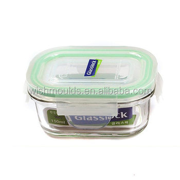 Professional Food Grade Plastic Lunch Box Injection Molding For Food