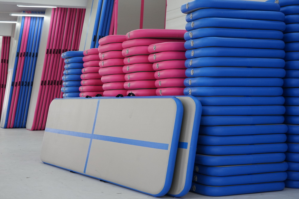 Highest Quality 5M Super Strong Pvc Air Track Tumble Block Gymnastics Inflatable Air Track