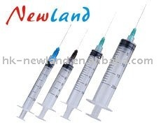 Disposable veterinary syringe