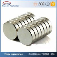 Rare Earth Super Strong Permanent Neodymium NdFeB Round Base N52 Magnets