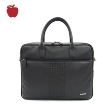 China Specialized Factory Wholesale Men Leather Bag Briefcase