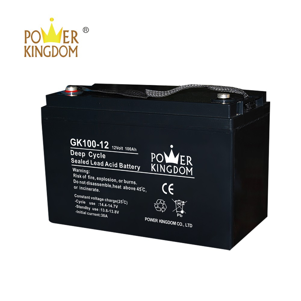 Power Kingdom 12v lead acid battery inquire now wind power system