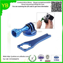 Custom aluminum sandblast and anodizing action camera accessories in Guangdong,ISO9001/TS16949 passed