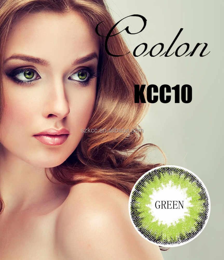 Korea Contact lenses Cheap And High Quality color contact lens KCC10 Series